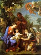 Chiari, Giuseppe The Rest on the Flight into Egypt oil on canvas