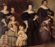Cornelis de Vos Family Portrait oil on canvas