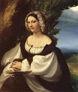 Correggio Portrait of a Lady oil painting reproduction
