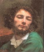 Courbet, Gustave Self-Portrait (Man with a Pipe) oil on canvas