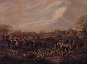 Dean Wolstenholme The Essex Hunt,1831 A set of Four Paintings oil painting reproduction