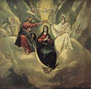 El Greco The Coronation of the Virgin oil on canvas