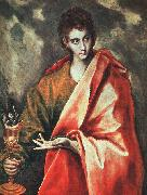 El Greco St. John the Evangelist oil on canvas