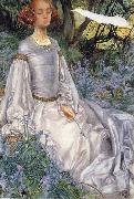 Eleanor Fortescue-Brickdale,RWS In the Springtime oil