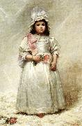 Elizabeth Lyman Boott Duveneck Little Lady Blanche oil on canvas