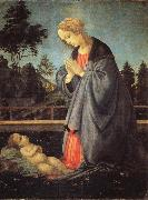 Filippino Lippi The Adoration of the Child china oil painting artist