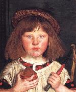 Ford Madox Brown The English Boy oil painting reproduction