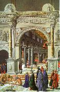 Fra Carnevale Presentation of the Virgin in the Temple oil painting reproduction