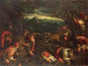 Francesco Bassano the younger Autumn oil painting reproduction