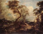 Francesco Guardi Landscape oil painting reproduction