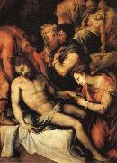 Francesco Salviati The Deposition oil painting reproduction