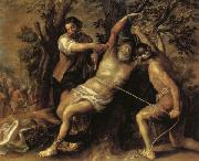Francisco Camilo The Martyrdom of St.Bartholomew oil on canvas