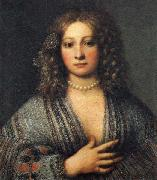 Girolamo Forabosco Portrait of a Woman oil painting reproduction