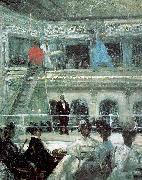 Glackens, William James Hammerstein s Roof Garden painting