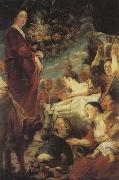 Jacob Jordaens An Offering to Ceres oil on canvas