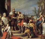 Jacopo Amigoni Joseph in Pharaob's Palace oil on canvas
