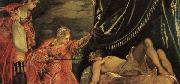 Jacopo Robusti Tintoretto Judith and Holofernes oil painting reproduction