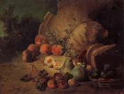 Jean Baptiste Oudry Still Life with Fruit oil painting reproduction