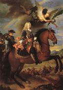Jean Ranc Equestrian Portrait of Philip V oil