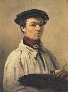 Jean-Baptiste Corot Self-Portrait oil on canvas