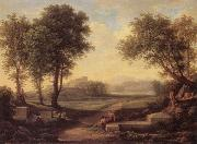 Johann Christian Reinhart An Ideal Landscape oil