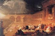 John Martin Belshazzar's Feast oil painting reproduction