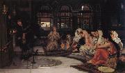 John William Waterhouse Consulting the Oracle oil painting reproduction