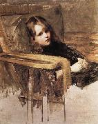 John William Waterhouse The Easy Chair oil painting reproduction
