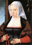 Joos van cleve Portrait of a Woman oil on canvas