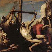 Jose de Ribera The Martyrdom of St. philip oil