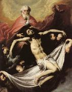 Jose de Ribera The Holy Trinity oil