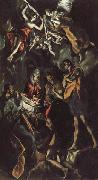 El Greco The Adoration of the Shepherds oil on canvas