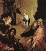 Juan de Sevilla romero The Presentation of the Virgin in the Temple oil