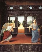 LORENZO DI CREDI The Annunciation oil painting reproduction