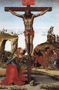 Luca Signorelli The Crucifixion with St.Mary Magdalen china oil painting artist