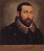 MORONI, Giovanni Battista Portrait of a Man oil painting reproduction