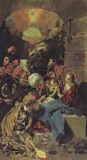 Maino, Juan Bautista del The Adoration of the Magi oil painting reproduction