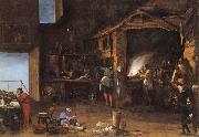 Napoletano, Filippo The Alchemist oil painting reproduction