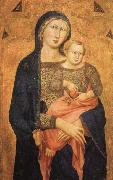 Niccolo Di ser Sozzo Madonna and Child oil painting reproduction