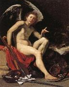Orazio Riminaldi Love Victorious oil