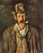 Paul Cezanne Man with a Pipe oil painting reproduction