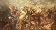 Peter Paul Rubens Henry IV at the Battle of Ivry painting