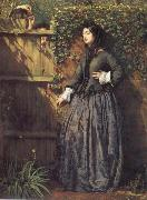 Philip Hermogenes Calderon Broken Vows oil on canvas