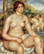 Pierre Renoir Seated Nude oil painting reproduction