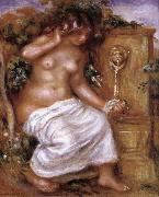 Pierre Renoir The Bather at the Fountain china oil painting artist