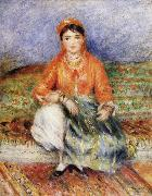 Pierre Renoir Algerian Girl oil painting reproduction