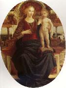 Pollaiuolo, Jacopo Madonna and Child oil painting reproduction