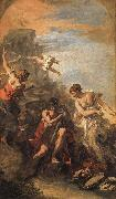 RICCI, Sebastiano Hercules at the Crossroads painting