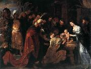 RUBENS, Pieter Pauwel Adoration of the Magi oil painting reproduction