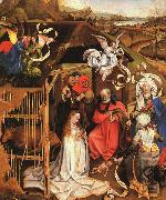 Robert Campin The Nativity oil painting reproduction